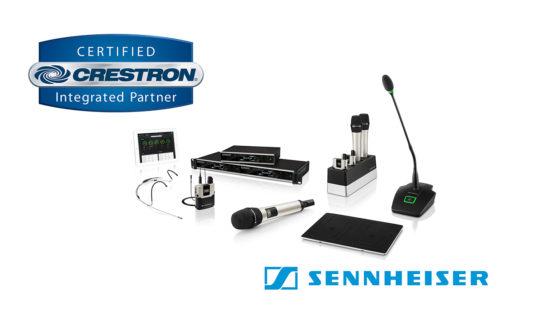 Sennheiser è certificato partner Crestron