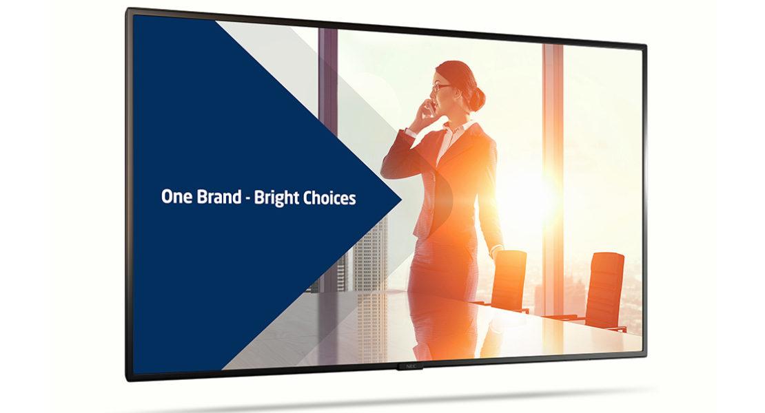 Il digital signage di NEC ridefinisce il modo di comunicare