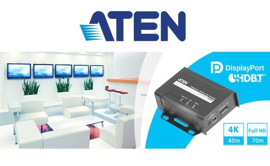 Extender Aten, il VE901 è il nuovo arrivato per DisplayPort