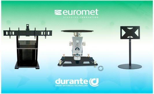 Durante sceglie i suppotti Euromet per offrire il meglio nel custom AV