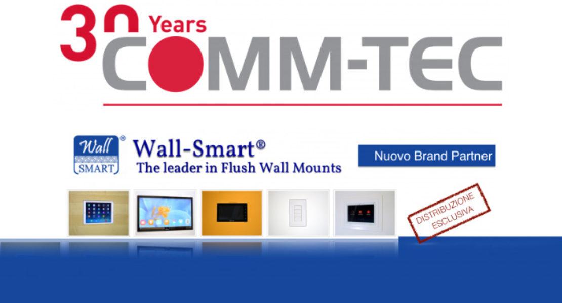 I sistemi Wall-Smart da oggi distribuiti in Italia da Comm-Tec