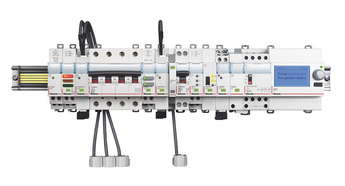 EMS BTdin, la nuova soluzione BTicino per l'energy management