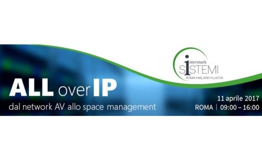 ALL Over IP, l'11 aprile l'Open Day Intermark per i professionisti