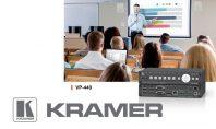 Kramer VP-440, lo scaler/switcher compatto per l'HDBaseT simultaneo