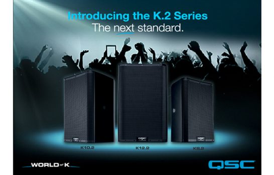 Monitor K di QSC, tanti aggiornamenti nella nuova serie