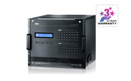 VM3200, 32 in e out, con funzioni di anteprima e pianificazione