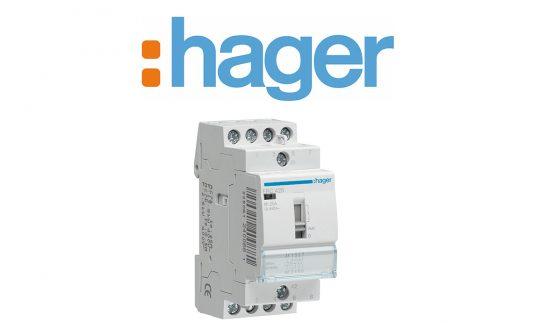 Contattori modulari Hager, versatilità e prestazioni per ogni applicazione