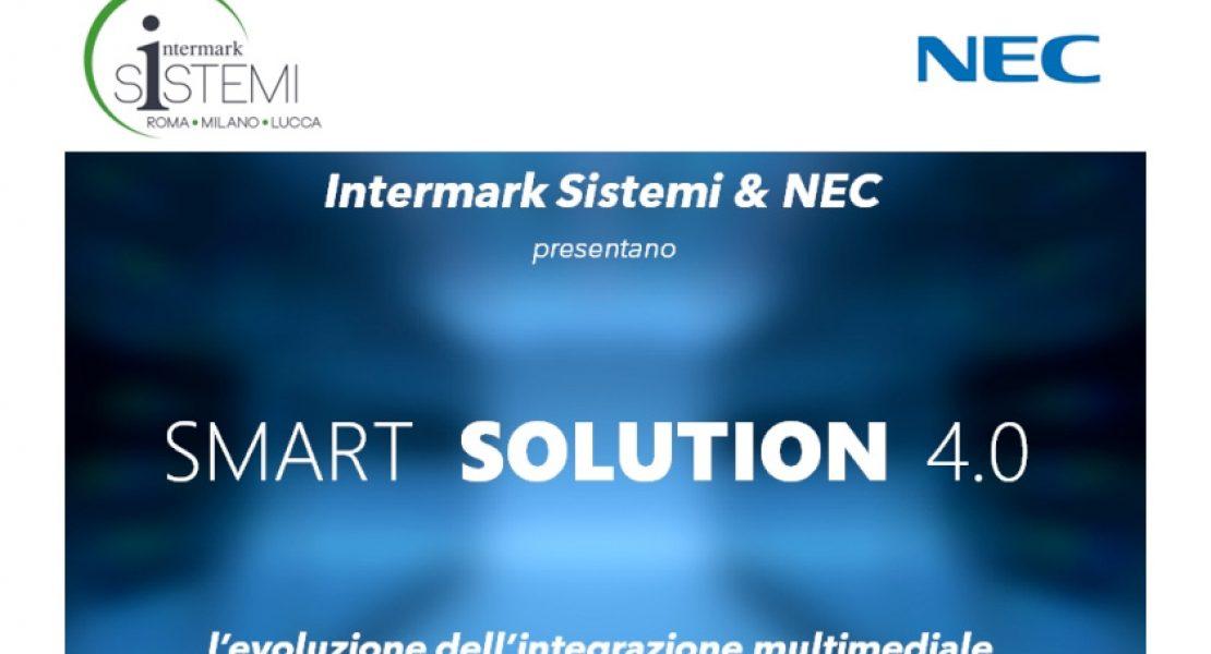 Con Intermark Sistemi e NEC alla scoperta delle Smart Solutions