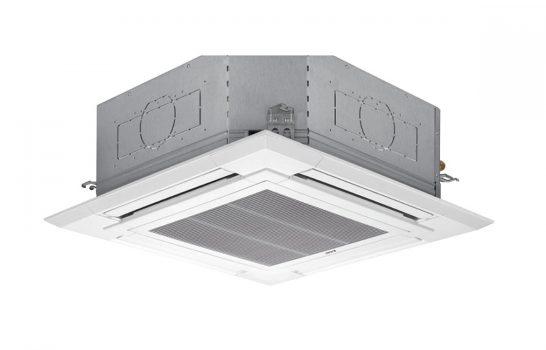 Il climatizzatore a soffitto Mitsubishi Electric sposa design e ambiente