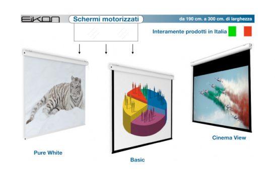 Eikon, gli schermi giusti al posto giusto, rigorosamente made in Italy