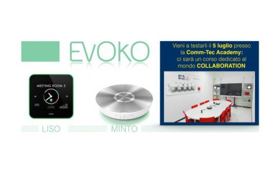 Evoko Liso e Minto, al Corso Comm-Tec Collaboration per vederli in azione