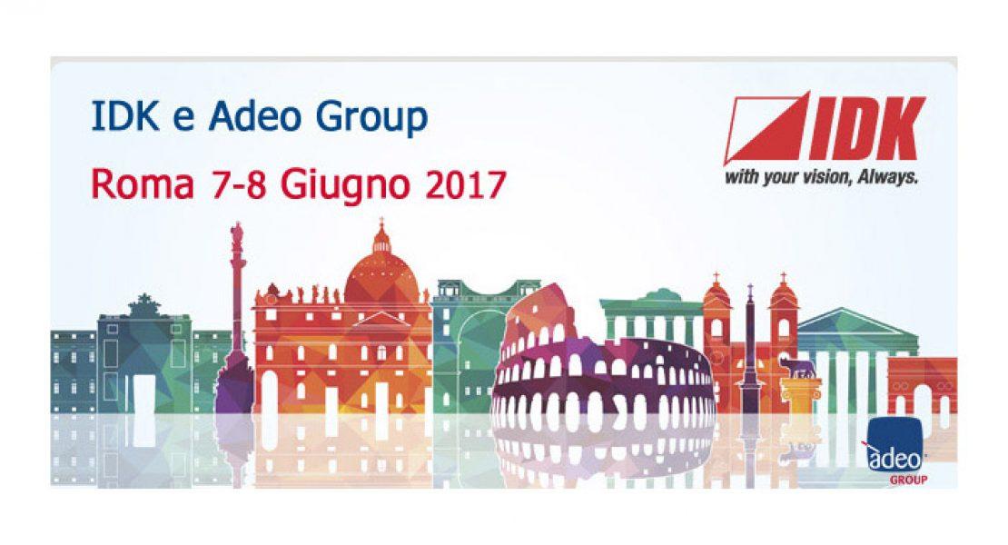 Adeo Group porta in anteprima a Roma i migliori prodotti IDK
