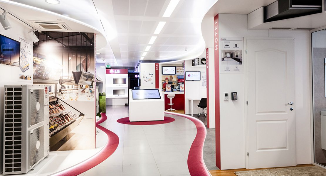 LG Electronics inaugura LG Academy e lo showroom Air Conditioning