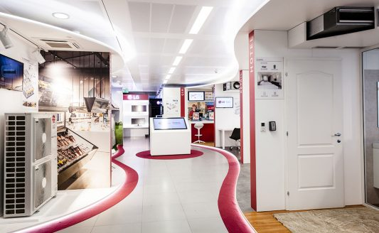 LG Electronics inaugura LG Academy e lo showroom Air Conditioning