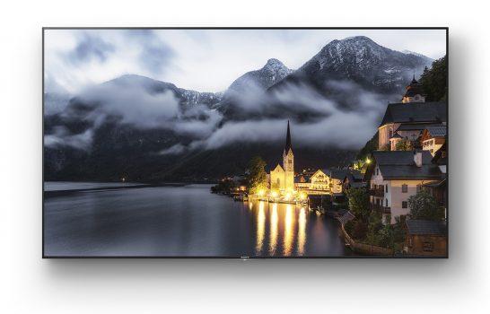 Con i nuovi modelli di display BRAVIA la gamma Sony ora è 4K-only