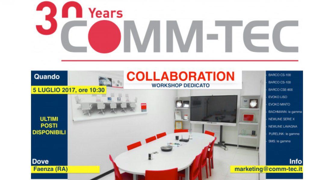 Collaboration, una giornata dedicata ai professionisti con Comm-Tec