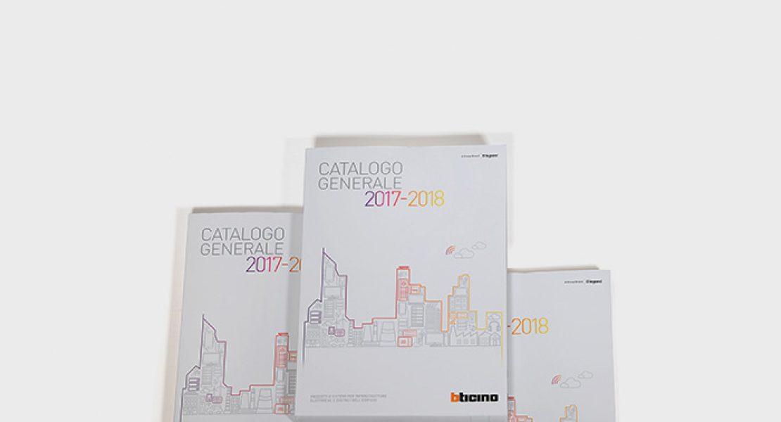 BTicino, disponibile il nuovo catalogo generale 2017-2018