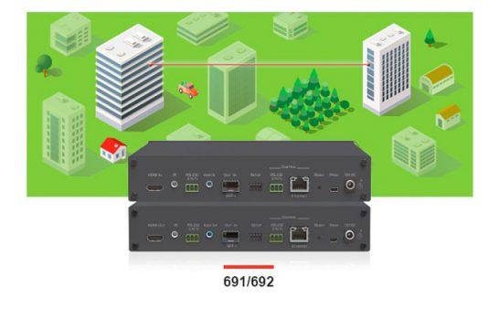Kramer 691 e 692, ricevi e trasmetti in fibra ottica a 4K60 fino a 4:2:0