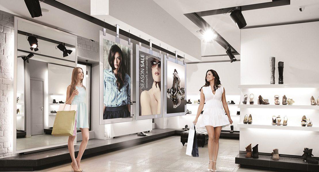 LG OLED Signage In-Glass: nero perfetto per il retail di classe