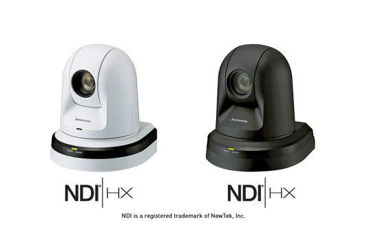 Panasonic integra il protocollo NDI in una nuova serie di telecamere PTZ