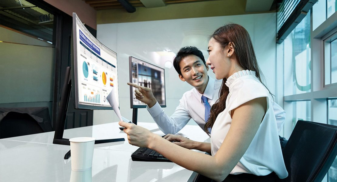 Samsung presenta a IFA tre monitor professionali per il moderno workplace