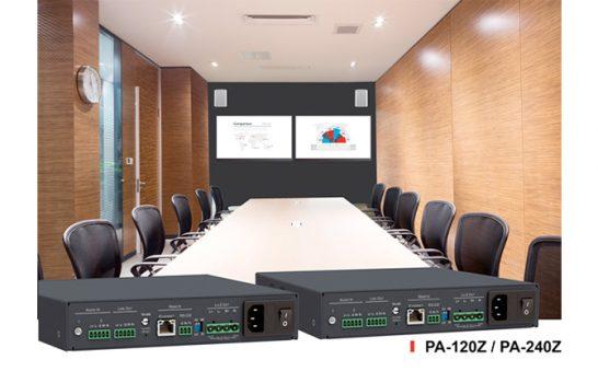 Kramer PA-120Z e PA-240Z, l'amplificazione si adatta ad ogni diffusore