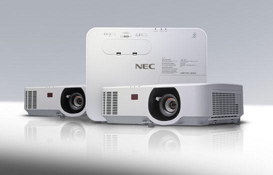 Lezioni luminose con i nuovi videoproiettori NEC Serie P