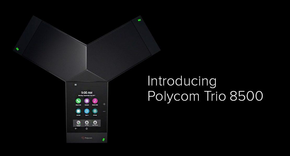Conference call all'ennesima potenza: ecco Polycom Trio 8500