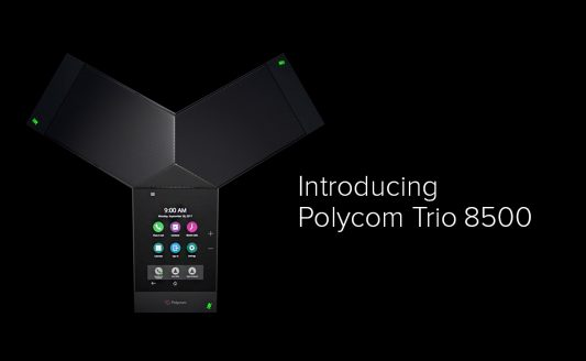 Conference call all'ennesima potenza: ecco Polycom Trio 8500