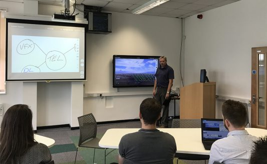 La tecnologia AV Sony nell'University of Wales Trinity Saint David
