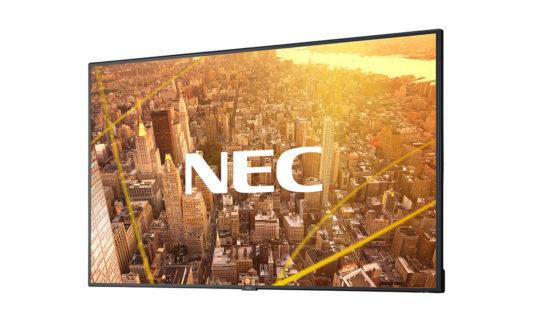 NEC, più semplicità di utilizzo con i display commercial Serie C