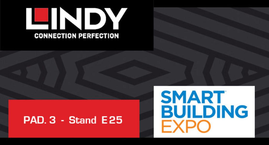 Lindy a Smart Building Expo con il catalogo e le ultime novità