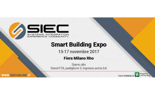 SIEC e Smart Building Expo: una partnership densa di appuntamenti