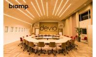 Biamp Devio: così il Technodrome Jobs Spa è microfonato ad hoc