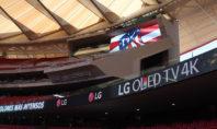 Wanda Metropolitano: LG illumina gli spalti con i suoi tabelloni LED
