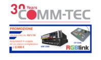 Per fine anno Comm-Tec lancia la promozione RGBLink