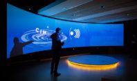 La videoproiezione Christie stupisce e abbraccia la natura nel CIM, in Catalogna