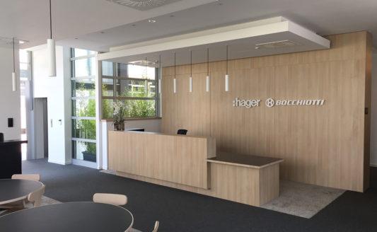 Hager Bocchiotti Spa mostra gli obiettivi di business nella nuova Casa Hager
