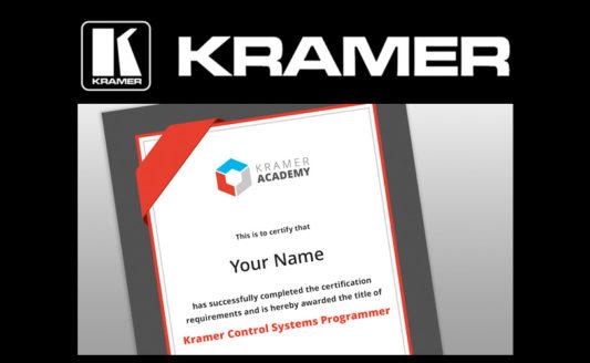 Corso Kramer Control: a ISE previste sessioni gratuite