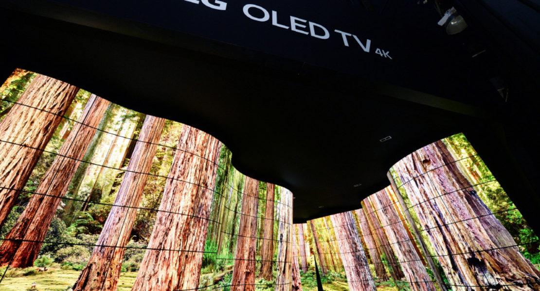 LG stupisce tutti al CES con il suo spettacolare LG OLED Canyon