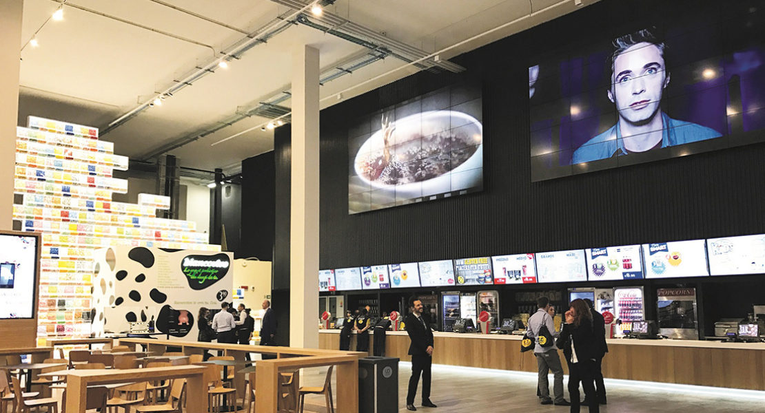 All'UCI Cinemas Orio Center LG porta la migliore tecnologia videowall