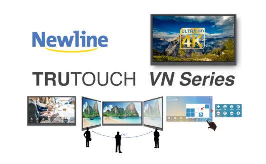Newline Trutouch Serie VN, la creatività attraverso la semplicità