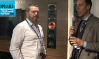 KEF Reference 5 speaker at ISE 2018