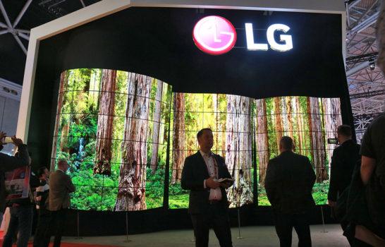 LG a ISE con le nuove soluzioni signage: videowall e OLED su tutti