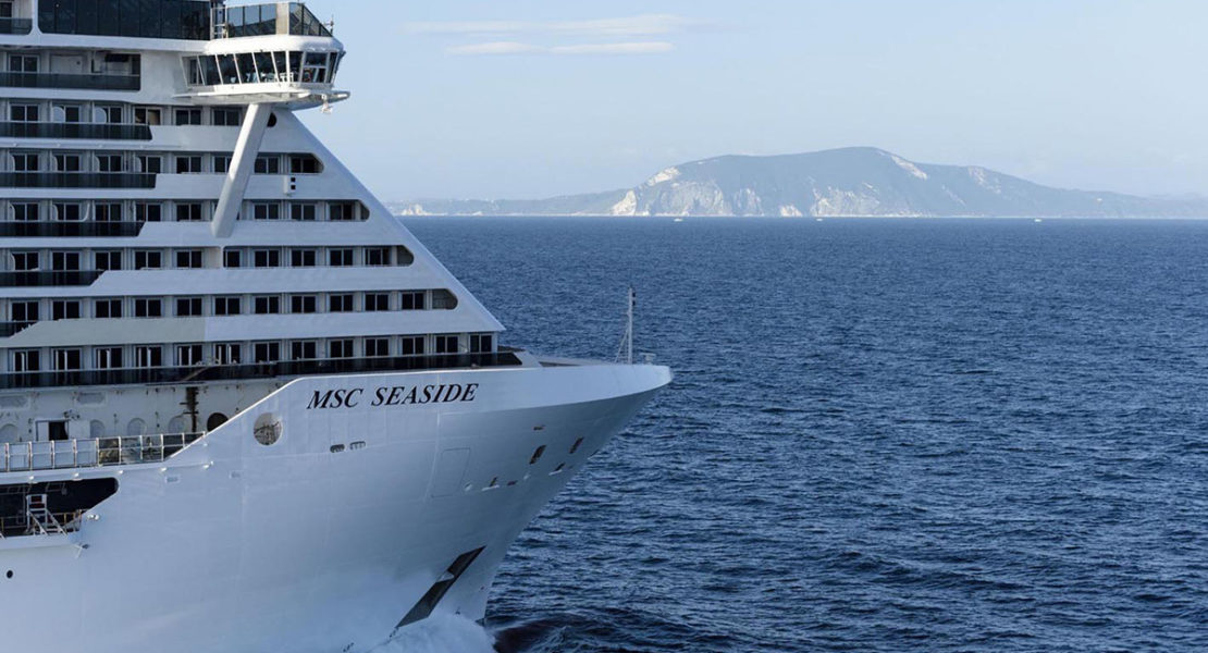 Vimar sale a bordo della MSC Seaside, la nave dei record