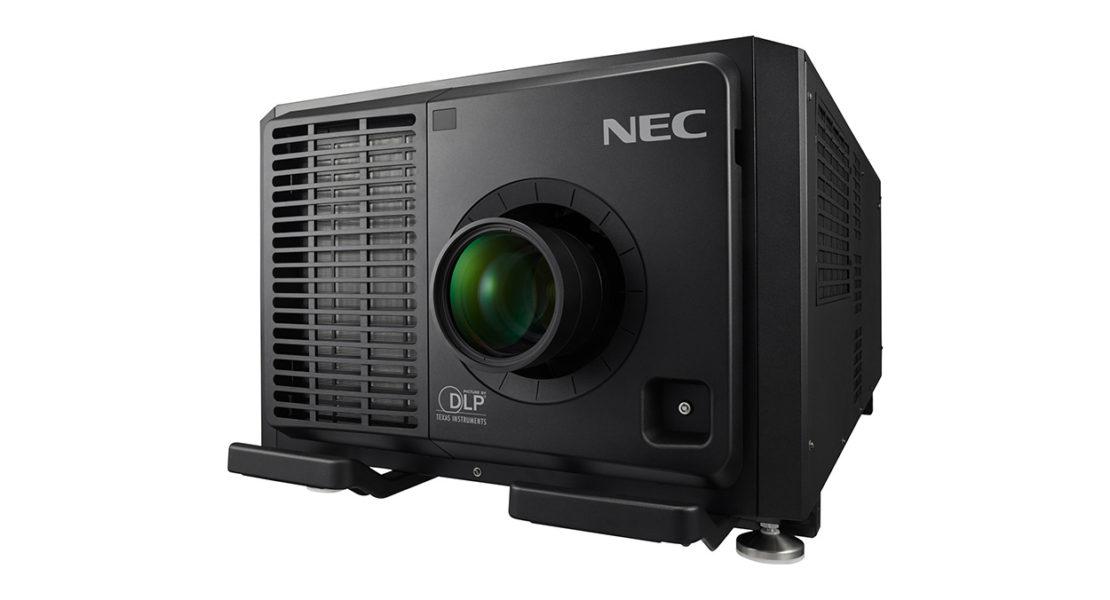 Doppio laser Red-Blu, i vpr NEC large venue sono i più luminosi del mondo