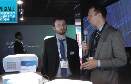 Casio, videoproiezione a ISE 2018