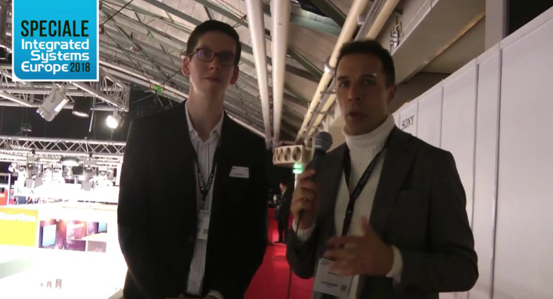 ISE 2018 – Chris Mullins of Sony Europe – home cinema & entertainment