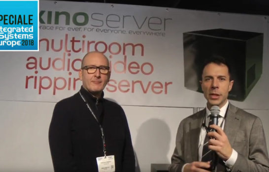 Kino Server, il made in Italy a ISE 2018