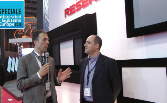 Screen Research stand at ISE 2018 [interview]